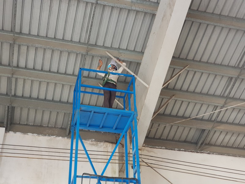 THE INSTALLATION OF SOLAR POWER SYSTEMS ON THE ROOF OF THE WORKS  (SOLAR POWER, SOLAR CELL, SOLAR PANEL)