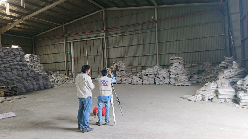 THE INSPECTION FOR THE SAFETY CERTIFICATES BEARING WORKS