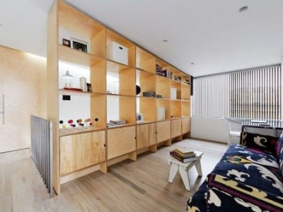 Cách phân chia phòng cho không gian nhỏ