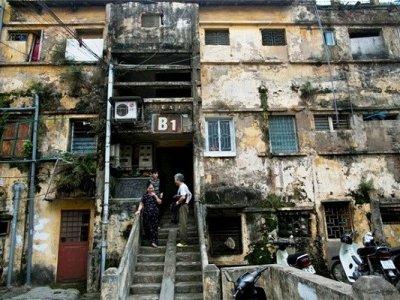 """Hạn chế """"hiệu ứng mặt tiền"""" trong cải tạo chung cư cũ"""