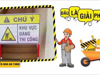 An toàn lao động trong tổ chức công trường xây dựng