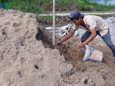 Cà Mau: Khẩn cấp thực hiện các giải pháp bình ổn giá cát xây dựng