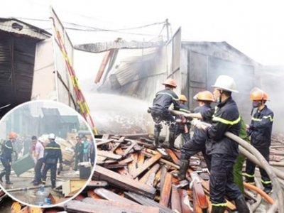 Sau vụ cháy lớn trên đường Phạm Hùng, cảnh sát chỉ ra 38 dự án