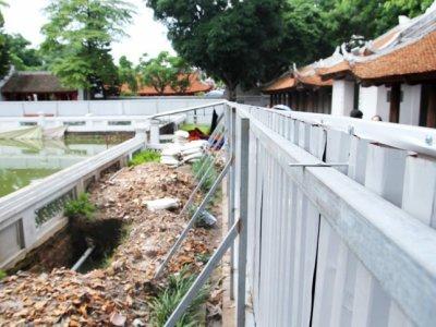 Sụt lún giếng Thiên Quang (Văn Miếu – Quốc Tử Giám): Cần tu sửa khẩn cấp