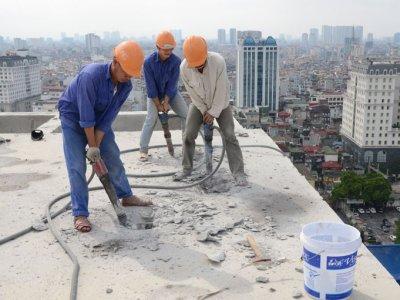 Xử lý nghiêm 2 công trình xây dựng sai phép