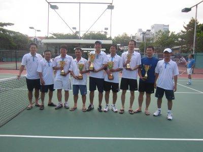 Giải Tennis ICCI lần thứ nhất 29/03/2014