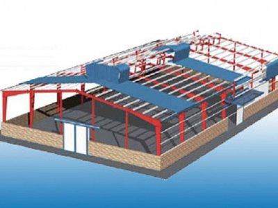 Kết cấu nhà thép công nghiệp