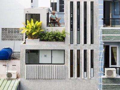 Cách nới rộng nhà phố 18 m2 giữa Sài Gòn khiến bạn có thể choáng!