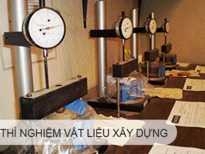 Quy định lấy mẫu thí nghiệm vật liệu xây dựng